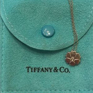 Paloma Picasso heart pendant with diamond